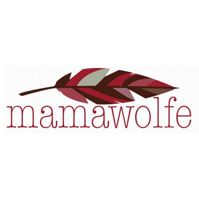MamaWolfe blog header design by Anna Hartman, Creative